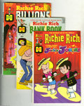 Bronze Age (1970-1979):Humor, Harvey Bronze Age First Issues Group (Harvey, 1972-74) Condition:Average FN/VF. This group includes Richie Rich and Jacki... (Total:7 Comic Books Item)