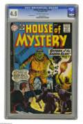 Silver Age (1956-1969):Mystery, House of Mystery #116 (DC, 1961) CGC VG+ 4.5 Off-white to whitepages. Rubin Moreira art. Last 10¢ issue. This is currently ...