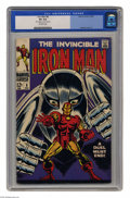 "Silver Age (1956-1969):Superhero, Iron Man #8 (Marvel, 1968) CGC VG 4.0 Off-white pages. George Tuska cover. Tuska and Johnny Craig art. CGC notes, ""9/3 writt..."