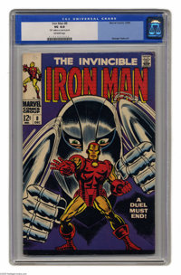 "Iron Man #8 (Marvel, 1968) CGC VG 4.0 Off-white pages. George Tuska cover. Tuska and Johnny Craig art. CGC notes, ""..."