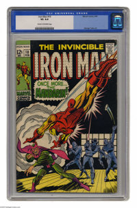 Iron Man #10 (Marvel, 1969) CGC VG 4.0 Cream to off-white pages. Iron Man vs. Mandarin. Nick Fury appearance. George Tus...