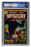 Bronze Age (1970-1979):Horror, Journey Into Mystery (2nd Series) #4 (Marvel, 1973) CGC NM 9.4Off-white pages. Gene Colan and P. Craig Russell art. Overstr...