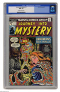 Bronze Age (1970-1979):Horror, Journey Into Mystery (2nd Series) #17 (Marvel, 1975) CGC NM+ 9.6Off-white to white pages. This is currently the highest gra...