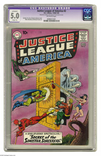 Justice League of America #2 (DC, 1961) CGC Apparent VG/FN 5.0 Slight (A) Off-white pages. Merlin appearance. Murphy And...