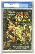 Silver Age (1956-1969):Adventure, Korak, Son of Tarzan #12 (Gold Key, 1967) CGC VF 8.0 Cream to off-white pages. Warren Tufts art. Overstreet 2004 VF 8.0 valu...