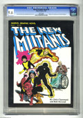 Modern Age (1980-Present):Superhero, Marvel Graphic Novel #4 The New Mutants (Marvel, 1982) CGC NM+ 9.6White pages. Origin and first appearance of the New Mutan...