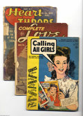 Golden Age (1938-1955):Romance, Miscellaneous Golden Age Romance Group (Various Publishers,1942-62). The comics in this group average FR condition unless o...(Total: 7 Comic Books Item)
