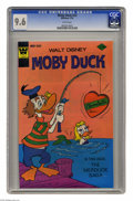 Bronze Age (1970-1979):Cartoon Character, Moby Duck #23 (Whitman, 1976) CGC NM+ 9.6 White pages. This iscurrently the highest grade awarded by CGC for this issue. Ov...