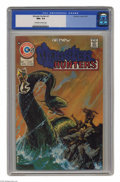 Bronze Age (1970-1979):Horror, Monster Hunters #1 (Charlton, 1975) CGC NM+ 9.6 Off-white to whitepages. Painted cover by Tom Sutton. This is currently the...