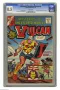 Silver Age (1956-1969):Adventure, Mysteries of Unexplored Worlds #46 (Charlton, 1965) CGC VF+ 8.5 White pages. Origin and first appearance of Son of Vulcan. B...
