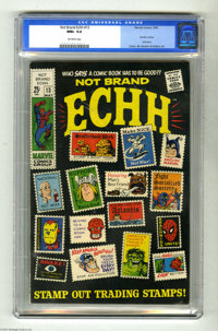 Not Brand Echh #13 (Marvel, 1969) CGC NM+ 9.6 Off-white pages. Last issue of the title. Beatles cameo. Gene Colan, Marie...