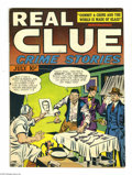 Golden Age (1938-1955):Crime, Real Clue Crime Stories V2#5 (Hillman Fall, 1947) Condition: FN/VF. Joe Simon and Jack Kirby art. Overstreet 2004 FN 6.0 val...