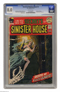 Bronze Age (1970-1979):Horror, Secrets of Sinister House #5 (DC, 1972) CGC VF 8.0 Off-white pages.First issue. Formerly Sinister House of Secret Love....