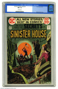 Bronze Age (1970-1979):Horror, Secrets of Sinister House #6 (DC, 1972) CGC NM+ 9.6 Off-whitepages. Michael Kaluta cover. Overstreet 2004 NM- 9.2 value = $...