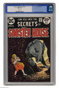 Bronze Age (1970-1979):Horror, Secrets of Sinister House #13 (DC, 1973) CGC NM- 9.2 White pages.Alfredo Alcala and Alex Nino art. This is currently the hi...