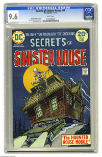 Secrets of Sinister House #16 (DC, 1974) CGC NM+ 9.6 White pages. Don Perlin, Vicente Alcazar, and Ernie Chan art. This...