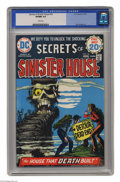 Bronze Age (1970-1979):Horror, Secrets of Sinister House #18 (DC, 1974) CGC VF/NM 9.0 White pages.Dan Spiegle art. This is currently this highest grade aw...