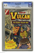 Silver Age (1956-1969):Adventure, Son of Vulcan #50 (Charlton, 1966) CGC VF+ 8.5 White pages. First published story by Roy Thomas. Bill Fraccio and Tony Talla...