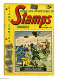 Golden Age (1938-1955):Non-Fiction, Stamps Comics #1 (Youthful Magazines, 1951) Condition: VG/FN.Overstreet 2004 VG 4.0 value = $60; FN 6.0 value = $90.From...