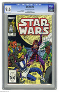 Modern Age (1980-Present):Science Fiction, Star Wars #82 (Marvel, 1984) CGC NM+ 9.6 Off-white to white pages.Ron Frenz cover and art. Overstreet 2004 NM- 9.2 value = ...