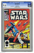 Modern Age (1980-Present):Science Fiction, Star Wars #83 (Marvel, 1984) CGC NM+ 9.6 Off-white pages. BobMcLeod cover and art. Overstreet 2004 NM- 9.2 value = $12. CGC...