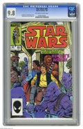 Modern Age (1980-Present):Science Fiction, Star Wars #85 (Marvel, 1984) CGC NM/MT 9.8 Off-white to whitepages. Bob McLeod cover and art. This is currently the highest...