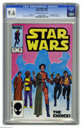 Modern Age (1980-Present):Science Fiction, Star Wars #90 (Marvel, 1984) CGC NM+ 9.6 Off-white to white pages.Mon Mothma, Kiro, and Admiral Ackbar appearance. Bob McLe...