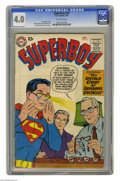 Silver Age (1956-1969):Superhero, Superboy #70 (DC, 1959) CGC VG 4.0 Off-white pages. Curt Swan and Stan Kaye cover. George Papp and John Sikela art. Overstre...