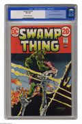 Bronze Age (1970-1979):Horror, Swamp Thing #3 (DC, 1973) CGC VG 4.0 Off-white to white pages.First full appearance of Patchwork Man. Bernie Wrightson cove...