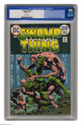 Bronze Age (1970-1979):Horror, Swamp Thing #10 (DC, 1974) CGC VG/FN 5.0 Off-white pages. BernieWrightson cover and art. Last Wrightson issue. Overstreet 2...
