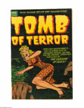 Golden Age (1938-1955):Horror, Tomb of Terror #7 (Harvey, 1953) Condition: FN. Lee Elias cover;interior art by Warren Kremer and Rudy Palais. Overstreet 2...