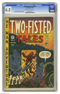Golden Age (1938-1955):War, Two-Fisted Tales #22 (EC, 1951) CGC FN+ 6.5 Cream to off-whitepages. Harvey Kurtzman cover. Alex Toth, Wally Wood, John Sev...