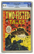 Golden Age (1938-1955):War, Two-Fisted Tales #28 (EC, 1952) CGC VF+ 8.5 Off-white pages. HarveyKurtzman cover. Wally Wood, John Severin, Jack Davis, an...