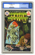 Bronze Age (1970-1979):Horror, Weird Mystery Tales #13 (DC, 1974) CGC NM 9.4 Off-white to whitepages. Luis Dominguez cover. Alfredo Alcala and Alex Nino a...