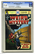 Bronze Age (1970-1979):Horror, Weird Mystery Tales #22 (DC, 1975) CGC FN/VF 7.0 Off-white pages.Ernie Chan cover. Sergio Aragones, Frank Reyes, Bill Draut...