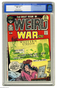 Weird War Tales #2 (DC, 1971) CGC NM+ 9.6 Off-white to white pages. Joe Kubert and Mort Drucker art. Overstreet 2004 NM-...