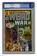 Bronze Age (1970-1979):War, Weird War Tales #5 (DC, 1972) CGC NM+ 9.6 White pages. Joe Kubert cover. Alex Toth and Russ Heath art. This is currently the...