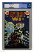 Bronze Age (1970-1979):War, Weird War Tales #11 (DC, 1973) CGC NM 9.4 White pages. Alfredo Alcala art. This is currently the highest grade awarded by CG...