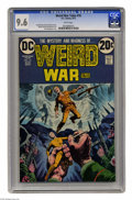 Bronze Age (1970-1979):Horror, Weird War Tales #16 (DC, 1973) CGC NM+ 9.6 White pages. LuisDominguez cover. Alfredo Alcala and Alex Nino art. This is the ...