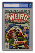 Bronze Age (1970-1979):Horror, Weird Wonder Tales #20 (Marvel, 1977) CGC NM+ 9.6 White pages. JackKirby cover. This is currently the highest grade awarded...