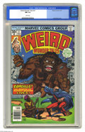 Bronze Age (1970-1979):Horror, Weird Wonder Tales #21 (Marvel, 1977) CGC NM 9.4 White pages.Reprinted story of the Atlas superhero Dr. Droom, renamed Dr. ...