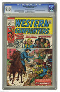 Bronze Age (1970-1979):Western, Western Gunfighters #1 (Marvel, 1970) CGC VF/NM 9.0 Off-white to white pages. Ghost Rider and the Gunhawk begin. Werner Roth...