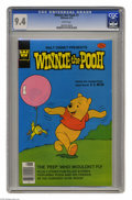 Bronze Age (1970-1979):Cartoon Character, Winnie the Pooh #7 (Whitman, 1978) CGC NM 9.4 White pages. This iscurrently the highest grade awarded by CGC for this issue...