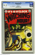 Silver Age (1956-1969):Horror, Witching Hour #2 (DC, 1969) CGC NM- 9.2 White pages. Nick Cardycover. Jack Sparling art. Overstreet 2004 NM- 9.2 value = $6...