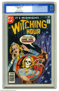 Bronze Age (1970-1979):Horror, Witching Hour #72 (DC, 1977) CGC NM 9.4 Off-white to white pages.Overstreet 2004 NM- 9.2 value = $9. CGC census 3/05: 1 in ...