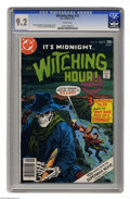 Bronze Age (1970-1979):Horror, Witching Hour #73 (DC, 1977) CGC NM- 9.2 White pages. Frank Redondoart. Overstreet 2004 NM- 9.2 value = $9. CGC census 2/05...