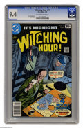 Bronze Age (1970-1979):Horror, Witching Hour #77 (DC, 1978) CGC NM 9.4 Off-white to white pages.Overstreet 2004 NM- 9.2 value = $9. CGC census 2/05: 1 in ...