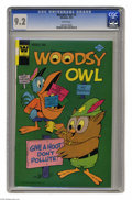 Bronze Age (1970-1979):Cartoon Character, Woodsy Owl #5 (Whitman, 1974) CGC NM- 9.2 White pages. This iscurrently the highest grade awarded by CGC for this issue. Ov...