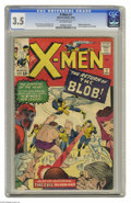 Silver Age (1956-1969):Superhero, X-Men #7 (Marvel, 1964) CGC VG- 3.5 Off-white pages. The X-Men battle the Brotherhood of Evil Mutants. First appearance of C...