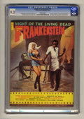 "Bronze Age (1970-1979):Horror, Castle of Frankenstein #18 (Gothic Castle Printing, 1972) CGC NM- 9.2 Off-white pages. ""House That Dripped Blood"" and ""Night..."